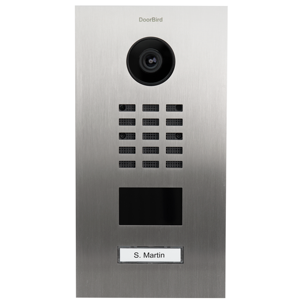 DoorBird D2101V IP-Video-Türsprechanlage für 1 Familienhaus